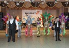 Новогодняя вечеринка в компании «Swissport»